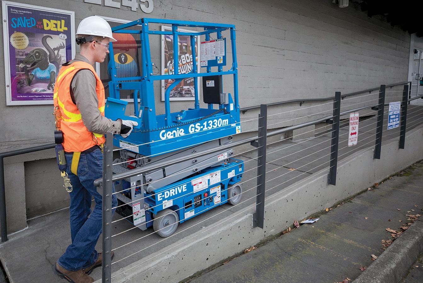 LGP equipment rentals Genie lifts